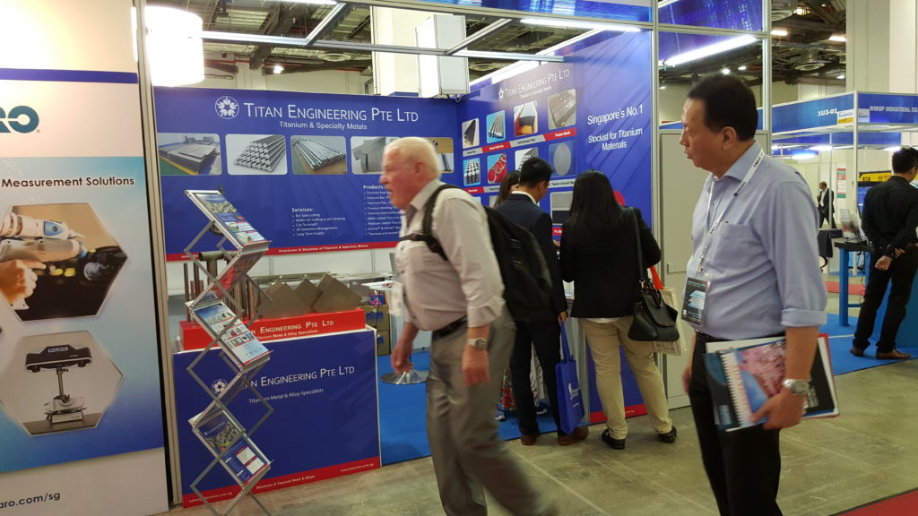 Oil & Gas, Ship Building and marine industry trade show in Marina Bay Sands, Singapore
