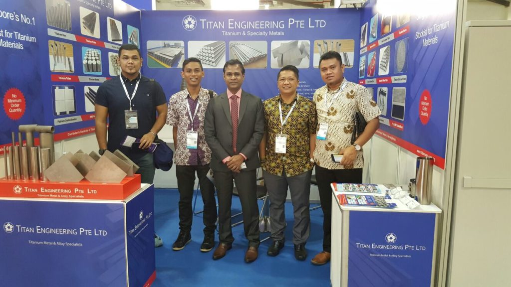 Titanium Metal Supplier with Indonesia customers