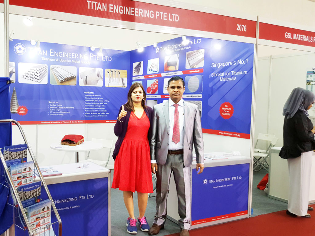 Exhibition Booth Rental Kuala Lumpur : Malaysia titanium supplier exhibits in metaltech